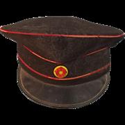 WW1 German Baden State Medical Corps NCO Visor Cap