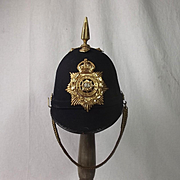 1878 Pattern East Yorkshire Regiment Blue Cloth Helmet