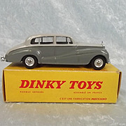 Boxed French Dinky Toys No. No. 551 Rolls Royce Silver Wraith