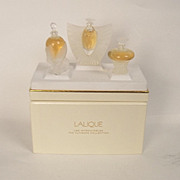 Lalique Les Introuvables Ultimate Edition Three Bottle Set (2000/01/02)