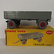 Boxed Dinky Toys 428 Large Trailer Large