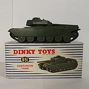 Boxed Dinky 651 Centurion Tank #4
