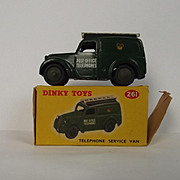 Boxed Dinky No. 261 Telephone Service Van