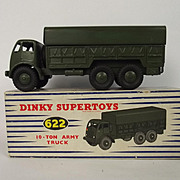 Dinky Toys No. 622 10 Ton Army Truck - Boxed