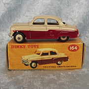 Dinky Toys No. 164 Vauxhall Cresta Saloon - Repro Box