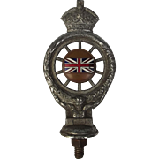 Kings Crown Vintage Royal Automobile Club Radiator Badge