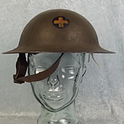 WW1 USA 33rd Infantry Brodie Helmet