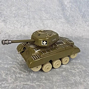 GAMA Clockwork Tin Plate Medium Tank M98 #2