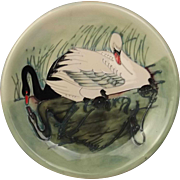 1992 Limited Edition Moorcroft Swan Plate 318/350