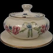 Circa 1905/10 Macintyre Florian Ware Lidded Muffin Dish