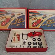 Schuco Grand Prix Racer #1075 - Reproduction Clockwork Grand Prix Racer Set