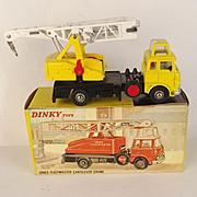 Boxed Dinky Toys 970 - Jones Fleetmaster Cantilever Crane (Yellow)