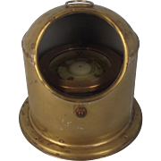 Compact Cooke & Sons Ships Binnacle Compass