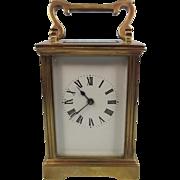 Circa 1900 French Brass Carriage Clock #2