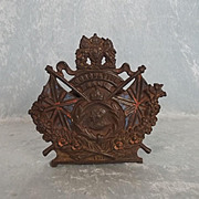 1911 Coronation Cast Iron Money Box