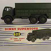 Dinky 622 – 10-Ton Army Truck #4