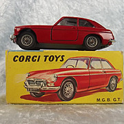 Boxed Corgi 327 M.G.B. G.T.