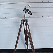 Circa WW2 Ross Of London 3.5 x 28 Naval Gunsight Binoculars