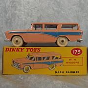 Boxed Dinky 173 Nash Rambler