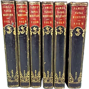 The Naval History of Great Britain By William James - Six Volumes Published 1837