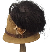 M1915 Pattern Saxon Regiment 2 Jaeger Other Ranks Felt Shako