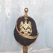 Edwardian 1878 Pattern Royal Artillery Officers Blue Cloth Home Service Helmet