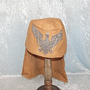 Military Fez With Its Field Cover Used In The Film Shout At The Devil (1976)