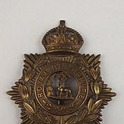 Edward VII Royal Berkshire Helmet Plate