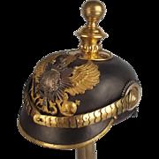 M1895 Prussian Artillery Reservists Officers Pickelhaube Helmet