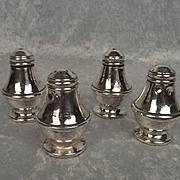 Silver Four Piece Cruet Set - Birmingham 1985/6