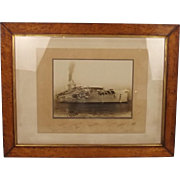 HMS Glorious Framed Signed Photograph