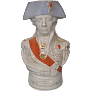 19th Century Staffordshire Lord Nelson Character Jug c1810