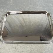 1931 Large & Heavy Silver Tray