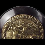 HMS Prometheus (1898) Cruiser Main Armament Bronze Tompion