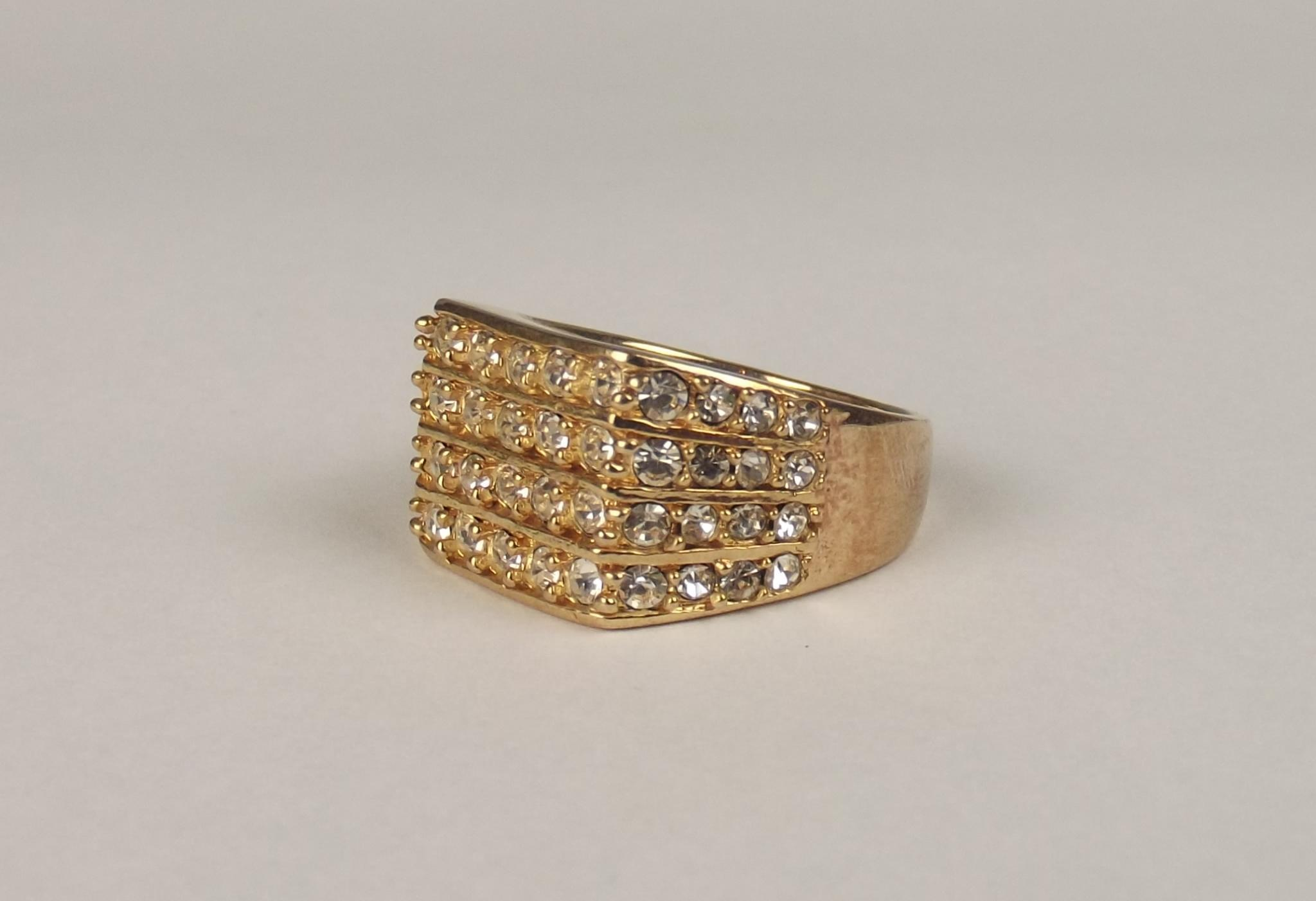 9ct yellow gold zirconia cluster ring uk size y us 12 from