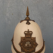 Royal Regiment Of Wales Tropical White Helmet