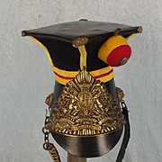 Sixteenth Lancers Chapska Helmet Real Plate Rest A Copy