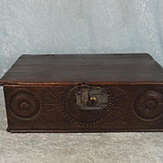 Early 18th Century Oak Bible Box