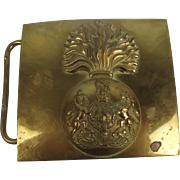 Royal Fusiliers Cross Belt Plate