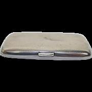 Birmingham 1912 Ladies Silver Cigarette Case