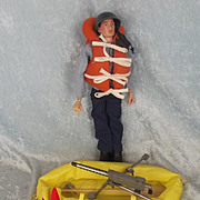 Vintage Action Man Navy Attack Set & 1964 Palitoy Action Man Doll