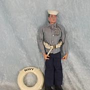 Palitoy Action Man Action Sailor Navy Dress Parade – 1966
