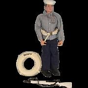 Palitoy Action Man Action Sailor Navy Dress Parade – 1966