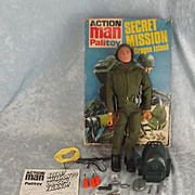 Palitoy Vintage Action Man Secret Mission To Dragon Island Set & Box