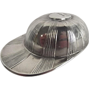 Sheffield 1908 Silver Caddy Jockey Cap Spoon