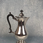 1906 London Silver Coffee Pot