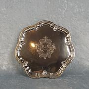 London 1900 Small Silver Salver