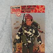 Vintage Action Man Parachute Regiment & Header Card
