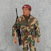 Palitoy Vintage Action Man Parachute Regiment