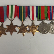 WW2 Medal Set Of 6 Medals